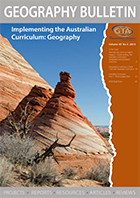 Geography Bulletin Volume 45, No. 4 — 2013