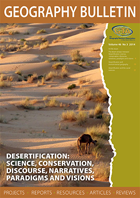 Geography Bulletin Volume 46, No. 3 — 2014
